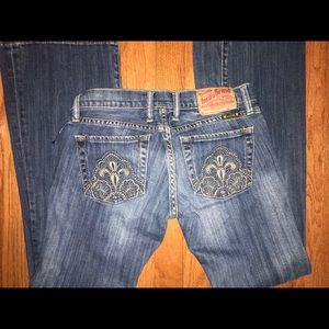 """Lucky brand lil Maggie Bootcut 24"""" Jeans Sz 00"""